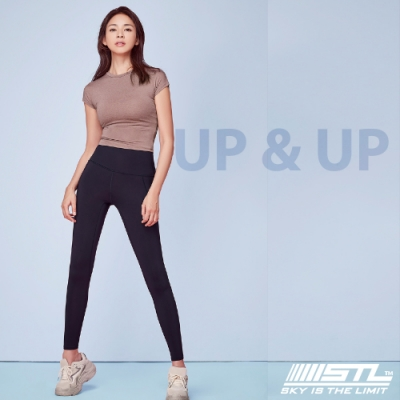STL yoga legging UP&UP 9 韓國 運動機能 超高腰 拉提訓練 緊身長褲 瑜珈/重訓/路跑/登山 香草紫violet