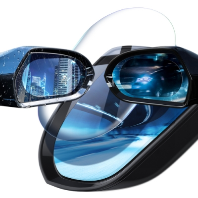 Baseus倍思 汽車後視鏡防雨膜0.15mm(95*95mm)- 圓形