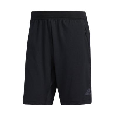 adidas 短褲 9-Inch Shorts 運動休閒 男款 愛迪達 HEAT.RDY 路跑 健身 重訓 黑 FJ6129