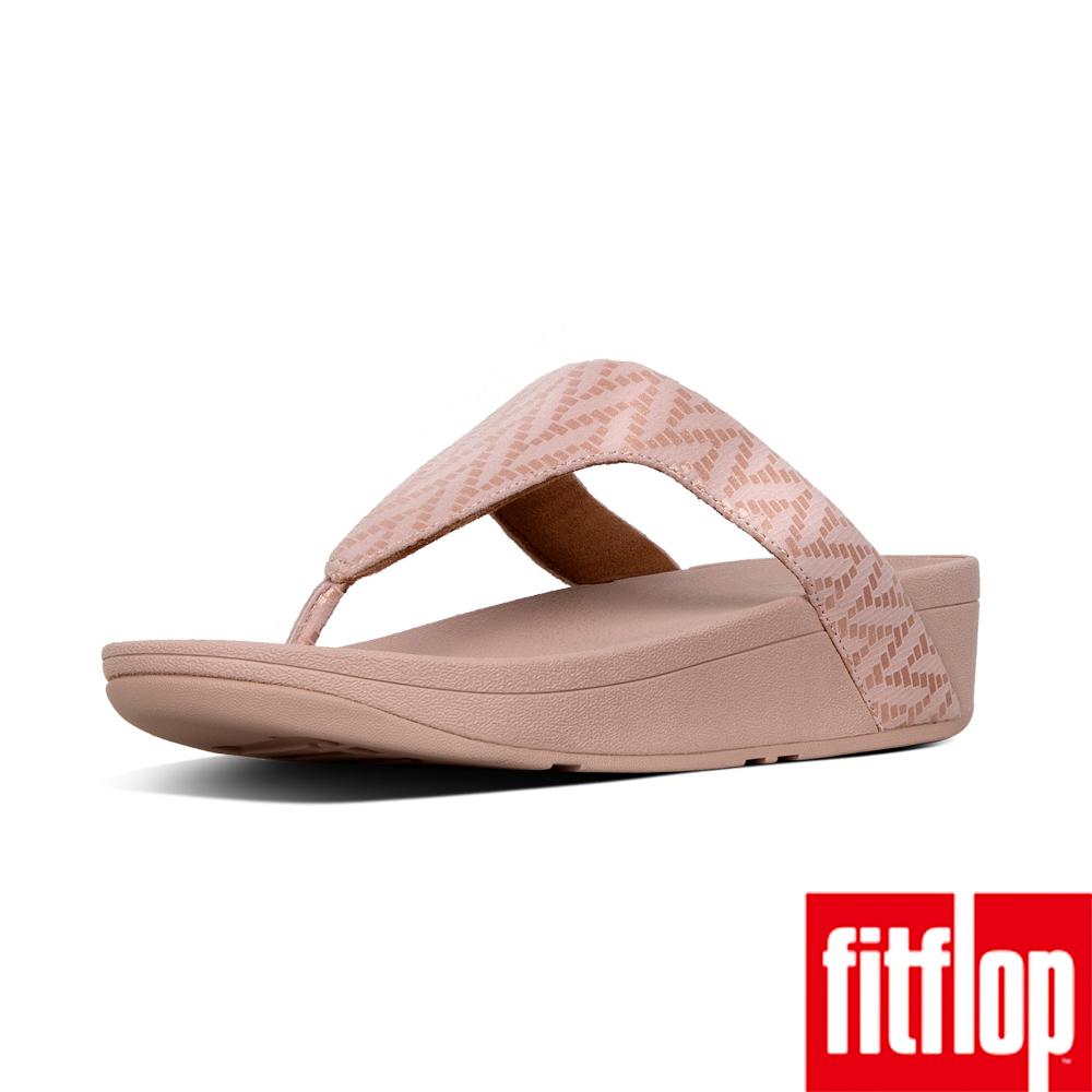 FitFlop LOTTIE  TOE THONGS-灰粉色
