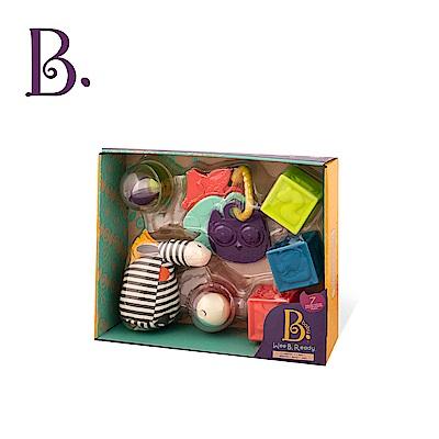 美國【B.Toys】捲尾斑馬玩瘋了