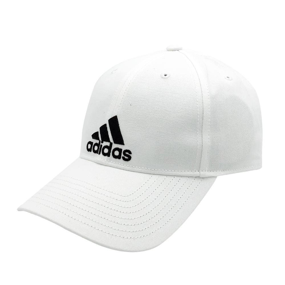 ADIDAS 6P CAP COTTON 中 白 休閒帽