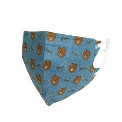 熊大 醫療3D立體口罩(未滅菌) 單寧L-盒裝25入