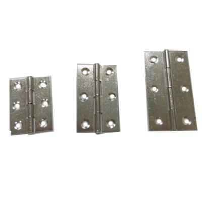 HI048 2入裝 2寸 不鏽鋼鉸鍊 白鐵合頁 折角後鈕 櫃門後鈕 折合活頁片 隱形門合頁