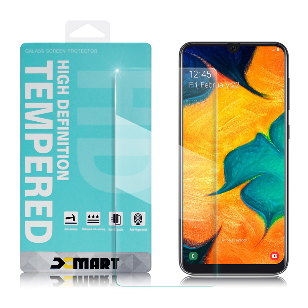 Xmart for Samsung Galaxy A30/A50 薄型 9H 玻璃保護貼 @ Y!購物