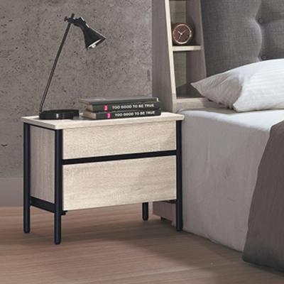Boden-維森1.8尺二抽床頭櫃/抽屜收納櫃/置物櫃-54x42x46