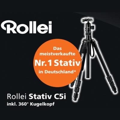 Rollei Stativ C5i 德國祿萊4合一功能球型雲台三腳架