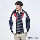 Nautica防潑水機能休閒雙面穿夾克-白色