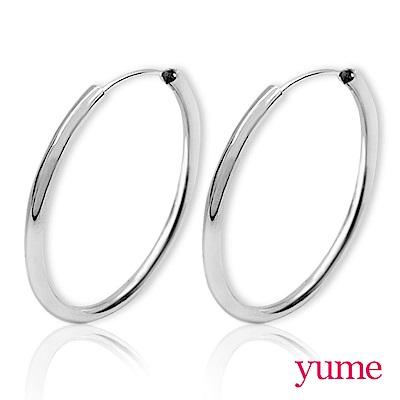YUME - 細圈圈耳環(70mm)