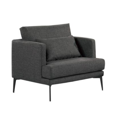 文創集 伯爾尼 現代透氣可拆洗棉麻布單人座沙發-88x82.5x68.5cm免組