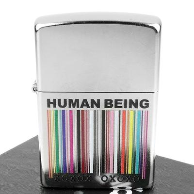 ZIPPO 美系~Human Being-做個好人圖案設計
