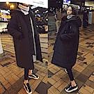 AH dream夢想女孩 韓國製-匹諾曹朴信惠款超長款保暖大衣