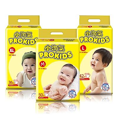 Prokids小淘氣透氣乾爽嬰兒紙尿褲M/L/X-箱(尺寸可選)