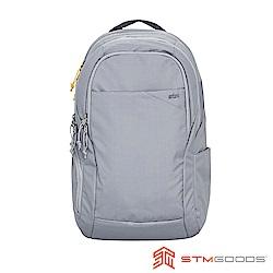 STM Haven Backpack 15吋 高質感商務通勤筆電後背包 (淺灰)