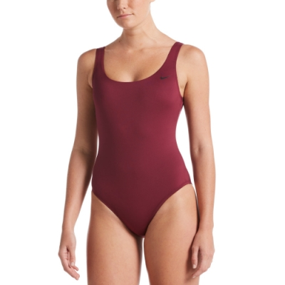 NIKE U-Back成人女性連身泳裝 紅 NESSA223-622