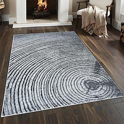 Ambience 比利時Shiraz 時尚地毯-樹輪灰 160x230cm