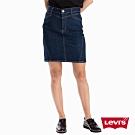 Levis 女款 修身牛仔裙 Revel 塑形翹臀版型 超彈力布料