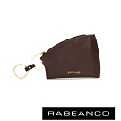 RABEANCO 迷時尚系列帆型牛皮零錢包 咖