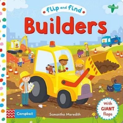Flip And Find Builders 工地的探險硬頁翻翻書
