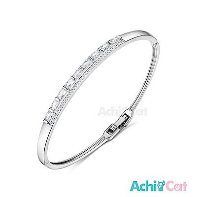 AchiCat 白K手環 甜蜜佳人 (銀色)