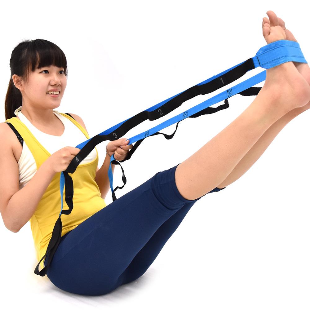 12拉環套式瑜珈伸展帶