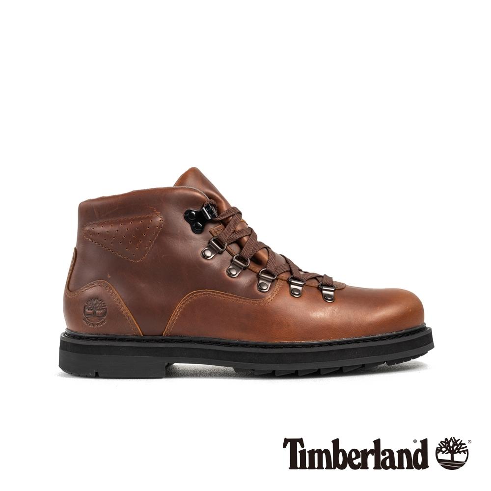Timberland 男款中棕色全粒面革靴|A2C2K