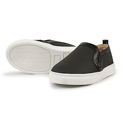 BuyGlasses 日系素色懶人童鞋-黑