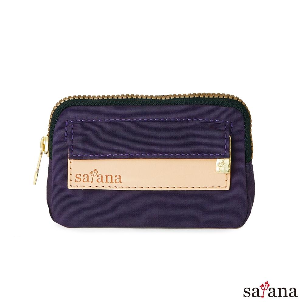 satana - Soldier 小巧零錢包/鑰匙包 - 紫色