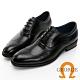 GEORGE 喬治皮鞋經典系列 真皮翼紋雕花牛津鞋 -黑 115013CZ product thumbnail 1
