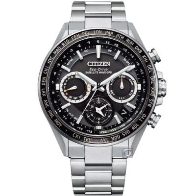CITIZEN 星辰 限量GPS衛星對時光動能手錶(CC4015-51E)44.3mm