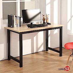 LOGIS極簡工業風黑腳桌 工作桌 長桌 電腦桌 辦公桌