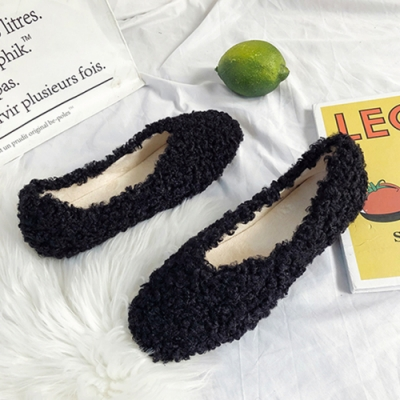 KEITH-WILL時尚鞋館-韓國氣質英倫學院平底鞋-黑色