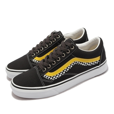 Vans 休閒鞋 Old Skool 復古 經典 男鞋 波紋 棋盤格 內外側不對稱 基本百搭 黑 多色 VN0A3WKT4S2