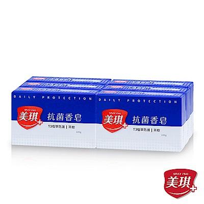 美琪-抗菌香皂-茶樹-6入裝