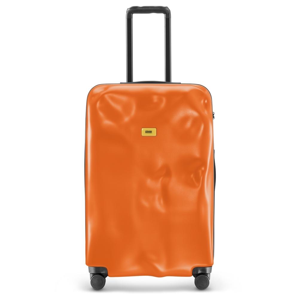 【Crash Baggage】New Icon拉鍊款29吋亮橘防撞行李箱