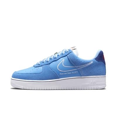 NIKE AIR FORCE 1 07 LV8 男休閒鞋-藍-DB3597400