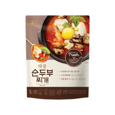 韓味不二 韓國原裝OURHOME 海鮮豆腐鍋(300g)