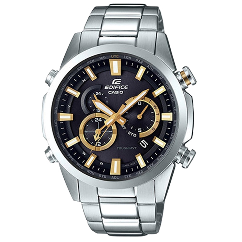 EDIFICE 光動能電波賽車腕錶(EQW-T640YD-1A9)