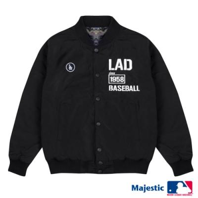 MLB-1958洛杉磯道奇電繡LOGO棒球外套(男)