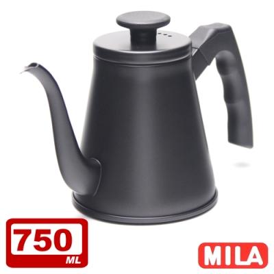 MILA 鶴嘴不鏽鋼手沖壺750ml+Driver 兩用咖啡濾杯組