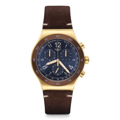 Swatch Irony 金屬Chrono系列手錶 VINI - 43mm
