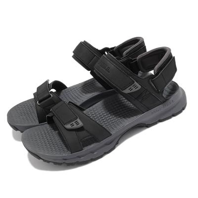 Merrell 涼鞋 Cedrus Convert 3 男鞋 緩衝 舒適 避震墊片 耐磨抓地 黑 灰 ML036175