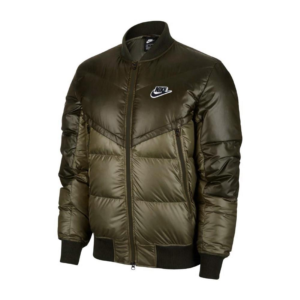 Nike 外套 Down Fill Windrunner 男款 NSW 羽絨外套 灰鴨絨 防風 保暖 綠 CU4403380