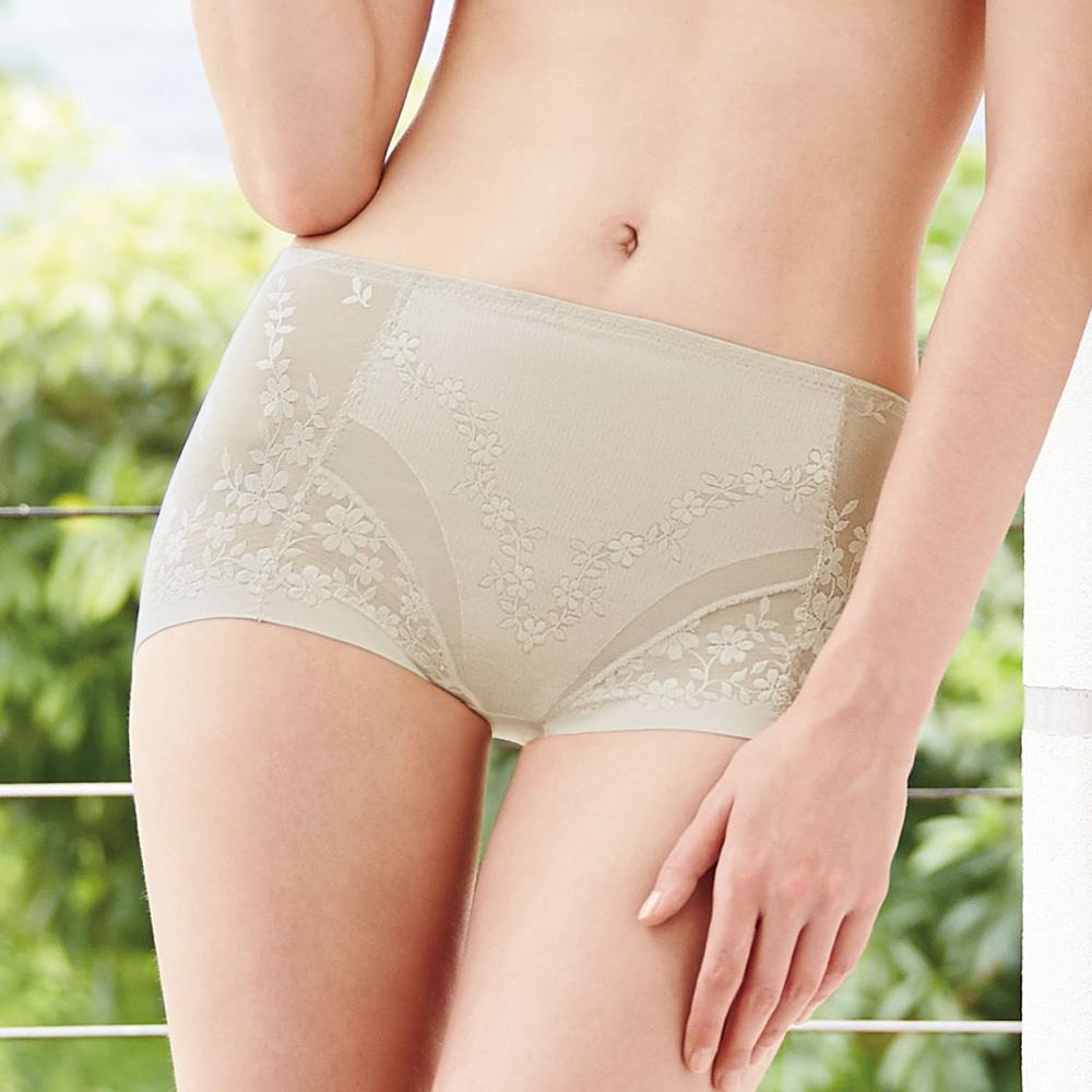 曼黛瑪璉-2014AW中腰三角無痕修飾褲M-XL(月光膚)