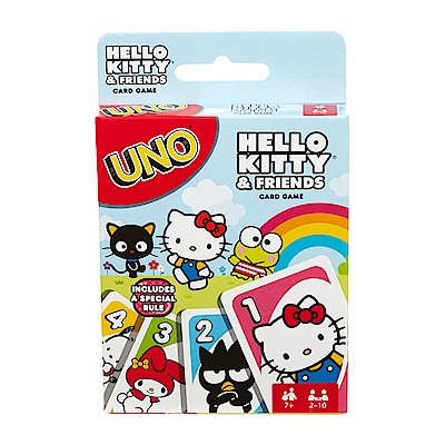 MATTEL UNO Hello Kitty & Friends(7Y )