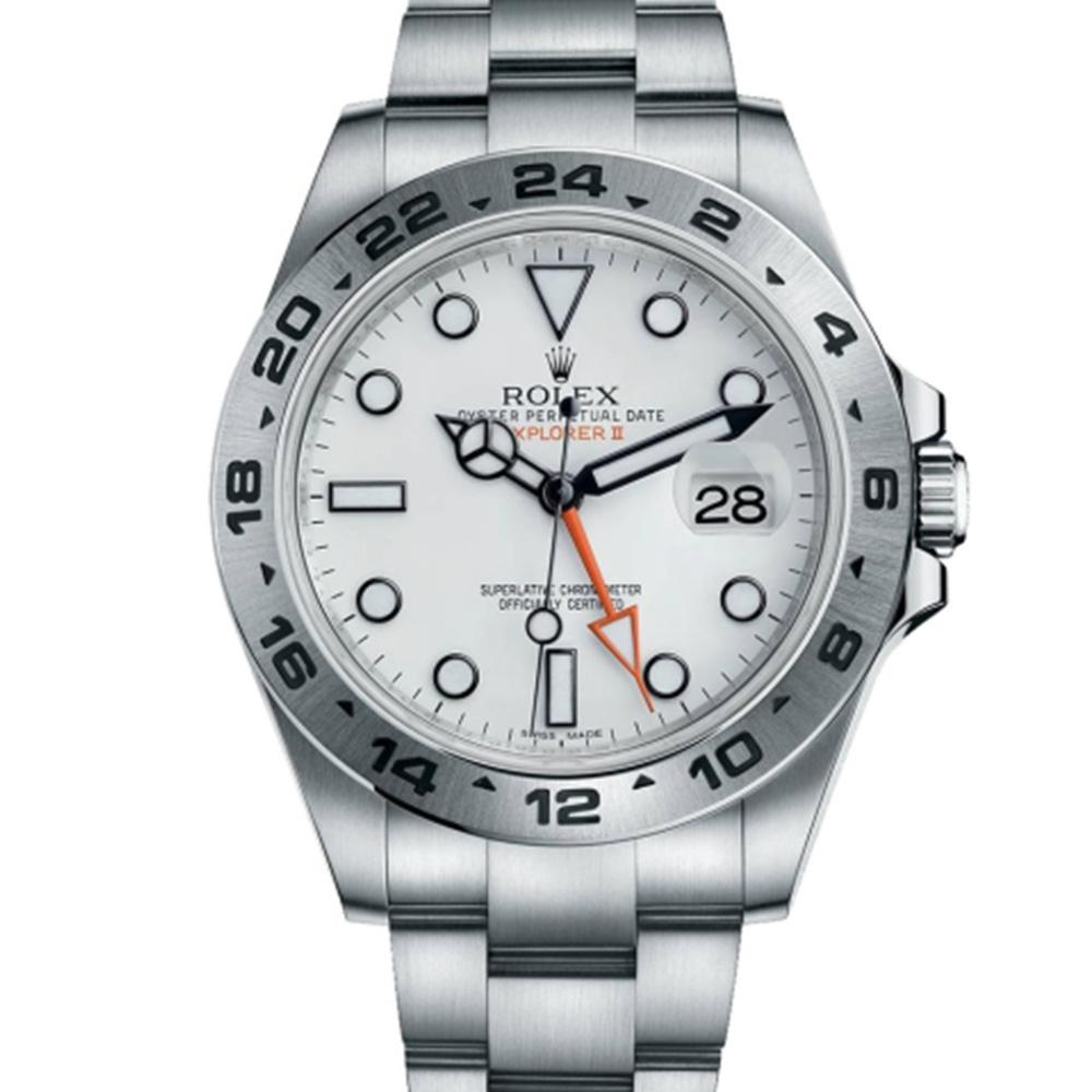 ROLEX 216570 新款探險家二號腕錶-白/42mm