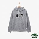 男裝Roots 新斯科細亞刷毛連帽上衣-灰色