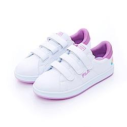 FILA  女潮流復古鞋-紫 5-C117T-900