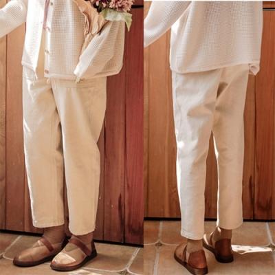 牛仔褲-全棉直筒寬鬆寬管休閒-設計所在