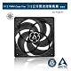 【ARCTIC】P12 PWM 12公分聚流風扇 透明黑 (AC-P12M-KT) product thumbnail 1